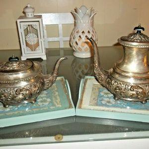 Antique IFS Israel Freeman & Sons post 1920 teapot